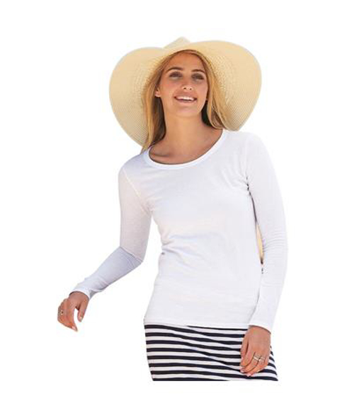 Picture of Lady-fit Valueweight Long Sleeve