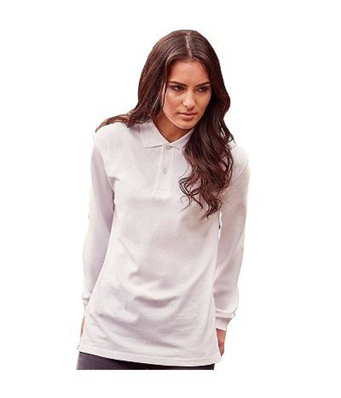 Picture of Long Sleeve Classic Cotton Polo