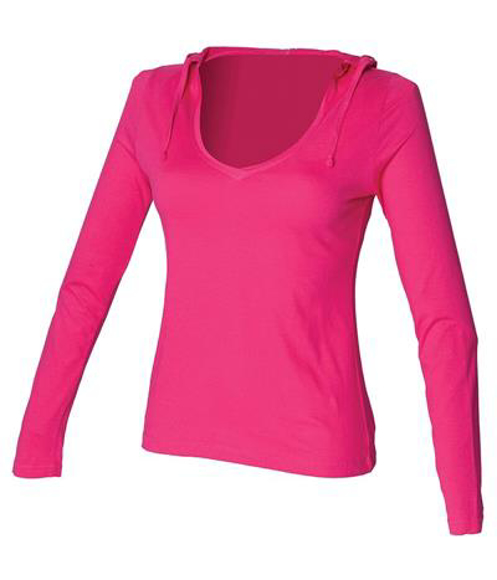 Picture of Long Sleeve Hooded T