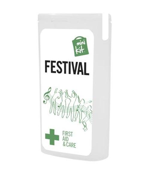 MiniKit Festival Set in white with 2 colour print