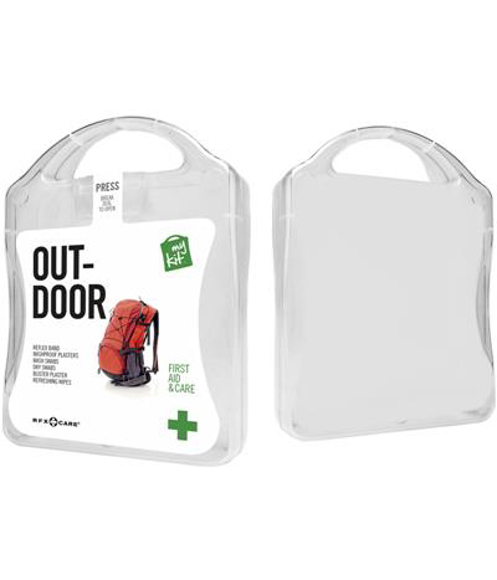 Outdoor First Aid Kit in white