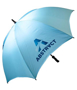 Prosport Deluxe Umbrella in blue with 1 colour print logo
