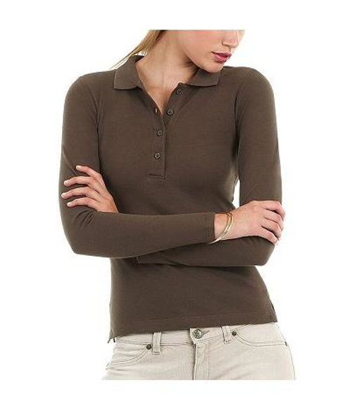 Picture of Safran Pure Long Sleeve Polo