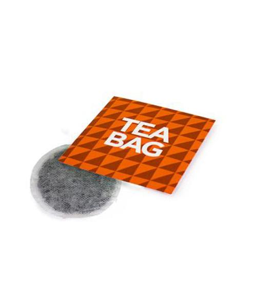 Individual tea bag, in a fully bespoke card sleeve