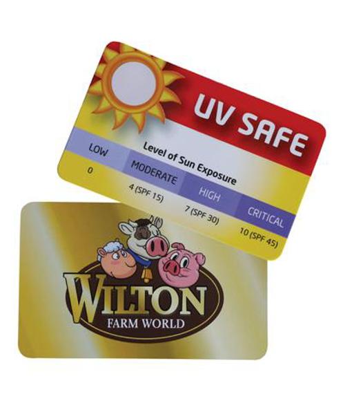 Picture of UV Sun Gauge Card