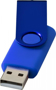 twister usb metallic blue