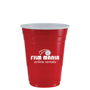 red american style cups