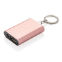 1.000 mAh keychain powerbank in rose gold