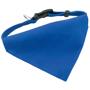blue dog collar bandana
