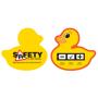 yellow duck bath temperature guage