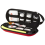 open view of the 46 piece first aid kit with safety vest