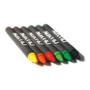 6 brabo coloured crayons