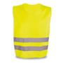 fluorescent yellow reflective vest