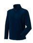 1/4 zip outdoor fleece in navy with cadet collar and pockets