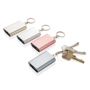 1.000 mAh keychain powerbank in 4 different colours