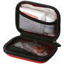 open display of the 16 piece first aid kit