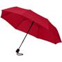 """21"""" foldable auto open umbrella in red"""