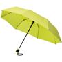 """21"""" foldable auto open umbrella in neon green"""