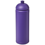 Purple 750ml water bottle with colour coordinated sports lid
