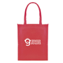 Reusable shopper bag in red for promotional merchandise