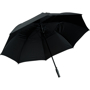 Automatic Vented Golf Umbrella in black