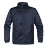 Axis Softshell Jacket in navy with navy full zip and 2 zipped pockets