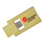 Bamboo Twist Drive with memory stick showing and 2 colour print logo