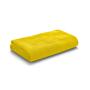 Beach towel in yellow