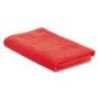 Beach towel in a bag in red