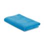 Beach towel in a bag in blue