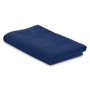 Beach towel in a bag in navy