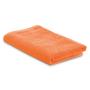 Beach towel in a bag in orange