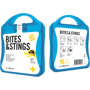 Bites And Stings First Aid Kit in blue