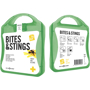Bites And Stings First Aid Kit in green