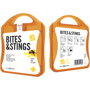 Bites And Stings First Aid Kit in orange