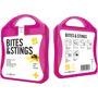 Bites And Stings First Aid Kit in pink