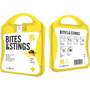 Bites And Stings First Aid Kit in yellow