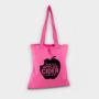 Pink shopper tote bag