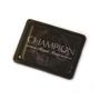 black champion rectangular magnet
