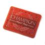 red champion rectangular magnet