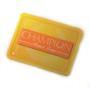 yellow champion rectangular magnet