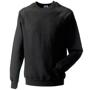 Classic Sweatshirt in black with crew neck