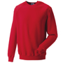 Classic Sweatshirt in red with crew neck