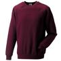 Classic Sweatshirt in burgundy with crew neck