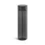 Clear coloured bottle Black