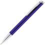 clip  clic ballpoint pen in purple