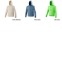 College Hoodie with double fabric hood, kangaroo pouch and drawstrings