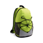 Turim Colourful backpack in green and grey with black details