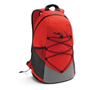 Turim Colourful backpack in red and grey with black details