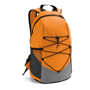 Turim Colourful backpack in orange and grey with black details
